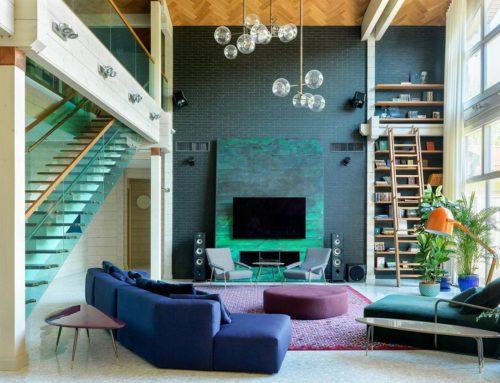 Дизайн домашнього інтер'єру з яскравою розкішністю
