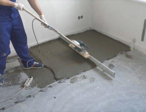 Ремонт стяжки підлоги: як заробляти тріщини, вибоїни, відшарування