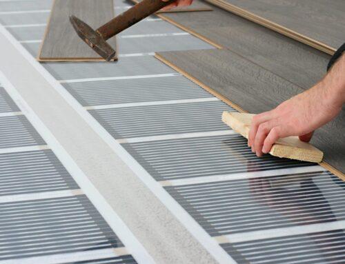 Укладка ламінату на систему теплої підлоги: що потрібно знати