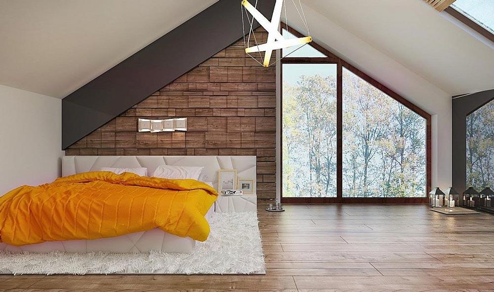 Підлога в мансарду